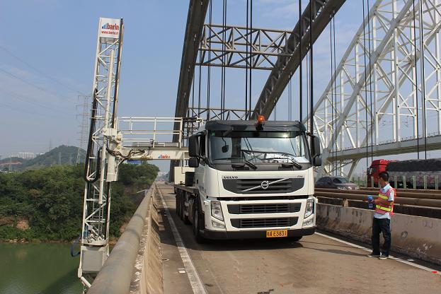 20米佰灵桥梁雷竞技app用不了在桂林检测作业